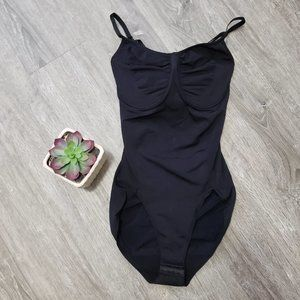 Jockey * Black Shapewear Compression Bodysuit 38D
